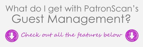 PatronScan Guest Management